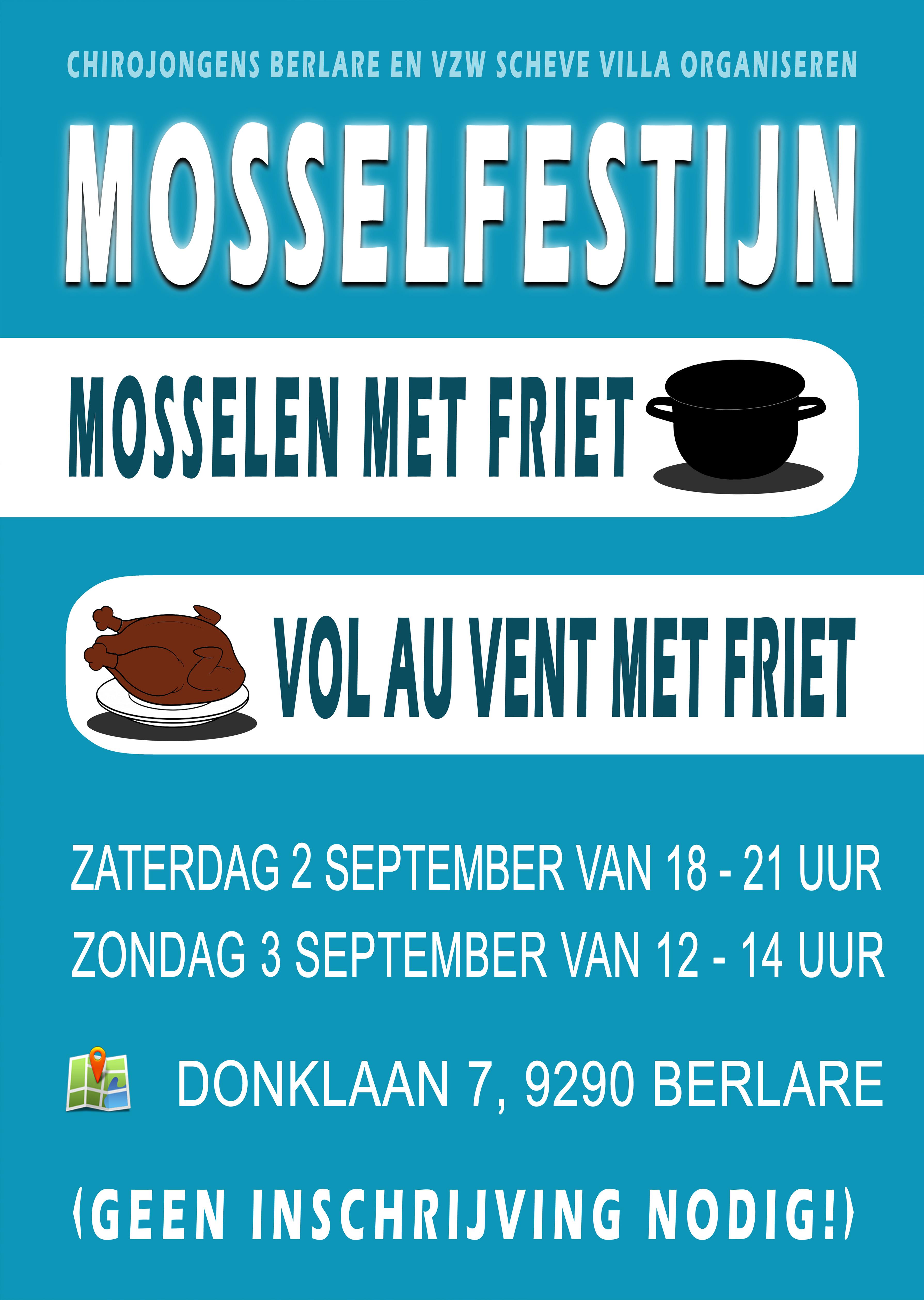 Flyer Mosselfestijn